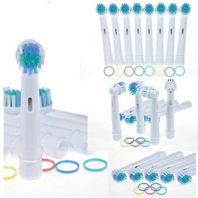 Pack of 4 Electric Tooth Brush Heads Replacement For Braun Oral B Soft Bristle Q