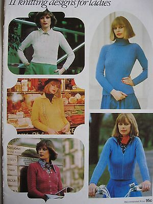 Patons 11 knitting designs for ladies pattern book