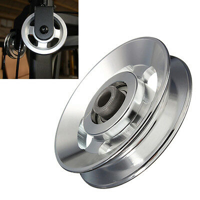 1Pc Universal 88mm Aluminium alloy Bearing Pulley Wheel Cable Gym Equipment Part