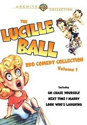 Lucille Ball RKO Comedy Collection, Vol. 1 [2 Discs] (2011, DVD NEW)