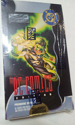 DC Comics Premier Series Trading Cards Skybox 1994 Sealed Box # 092095 / 200,000
