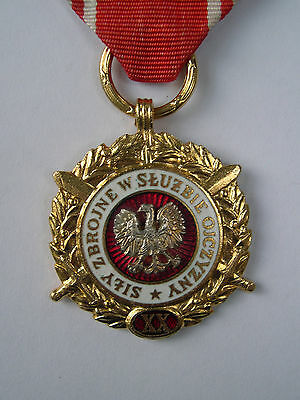 POLISH MEDAL IN GOOD CONDITION ORIGINAL RIBBON GENUINE medal polish