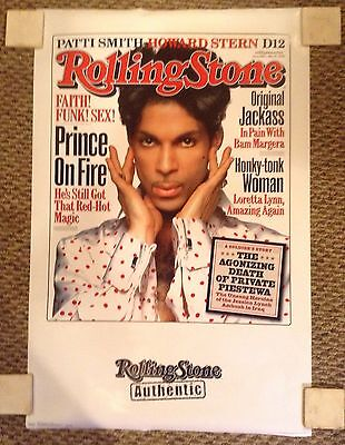 PRINCE ROLLING STONES COVER 22x34 POSTER
