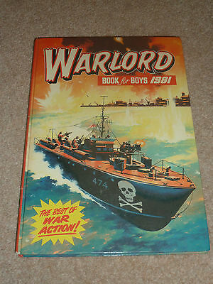 Warlord for Boys Annual 1981 - D. C. Thomson - War Stories