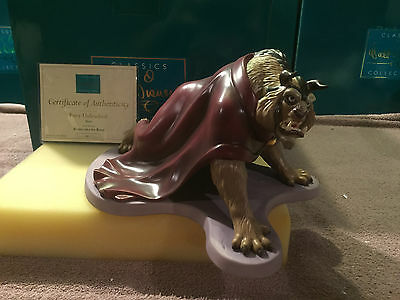 """WDCC Beauty & The Beast - """"Fury Unleashed"""" New in Box"""