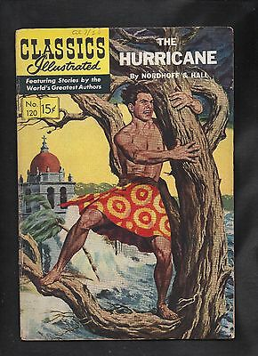 Classics Illustrated #120 G  Hrn121 The Hurricane (O) Nordoff & Hall