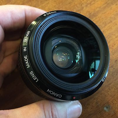 Canon Ef 28mm 1/1.8 Come Nuovo; Ultra Speed Wide Angle! Excellent Condition