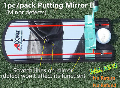 Golf Putting Mirror Training Alignment Aid with logo on sale