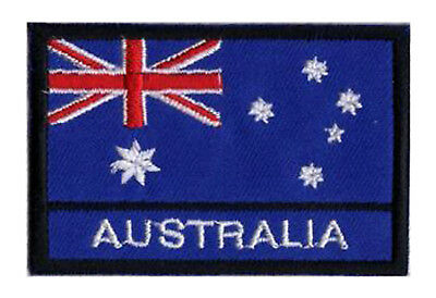 patch sew-on badge embroidered flag badge patch AUSTRALIA 70/45 mm