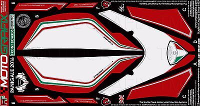 Motografix DUCATI 1299//959 Panigale Rear Seat Unit Red//White//Green Gel Protector