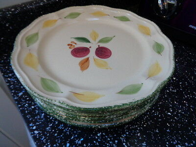 Marks And Spencer Damson Salad Plates X 6