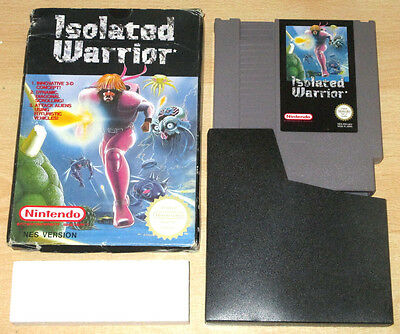 ISOLATED WARRIOR - Nintendo NES Game Boxed Set - PAL A Version