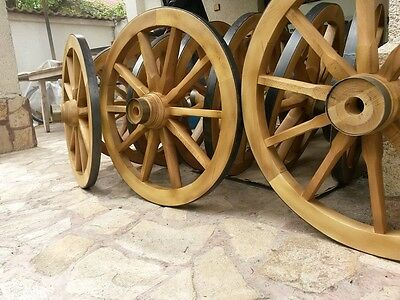 Wooden Cart wheels New 80cm Free delivery