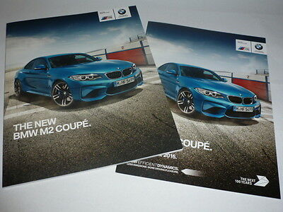 BMW M2 Coupe Brochure & Pricelist (2016)