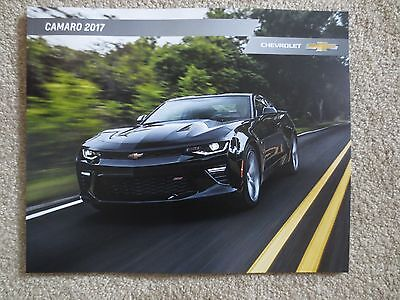 2017 Chevrolet Camaro Ss 1Le Zl1 50Th Anniversary Brochure New And Cool