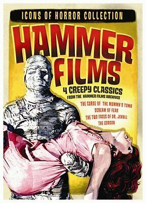 Hammer Horror Icons: 4 Classic Hammer Horror Films Uncut And Restored Versions..