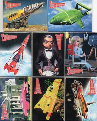 Thunderbirds - Fridge Magnets - New and Sealed - 8 Different - Ideal Present