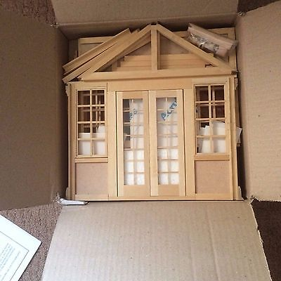 Dolls House Kit - Woodcutters Cottage and Conservatory