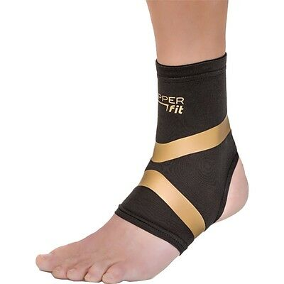 """As Seen on Tv COPPER FIT """"PRO SERIES"""" COMPRESSION Ankle SLEEVE (LARGE)"""