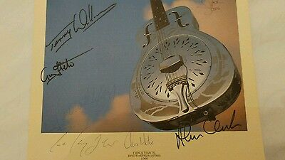 signed rock music memorabilia