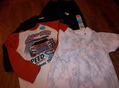 Lot of boy's clothes NWT size 4