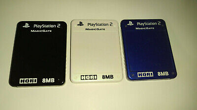 FMCB 1.953 / Sony PlayStation2 8MB Memory Card with Free Mcboot 1.953 | Hori