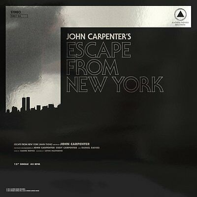 Escape From New York/Halloween - Live Picture Disc- Limited 2000- John Carpenter