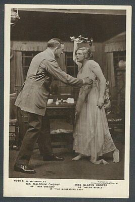 Miss Gladys Cooper & Mr Malcolm Cherry in The Misleading Lady