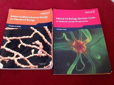 Edexcel As Biology Studnts Book And Revision Guide