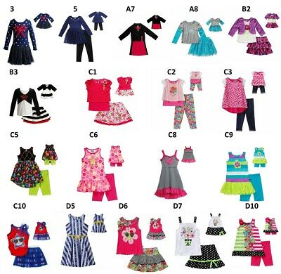 "Dollie & Me Sz 6-14 and 18"" doll matching  dress outfit clothes  american girl"