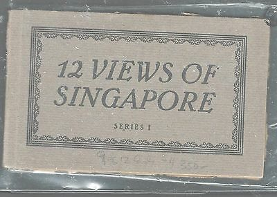 Singapore (P1105B) 9 Of 12 Views Of Singapore Series 1 Booklet  Very Rare