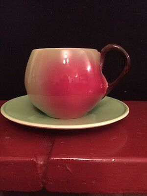 VINTAGE Carlton Ware Apple Style Cup & saucer