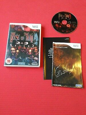 Nintendo Wii house of the dead  2 and 3 return
