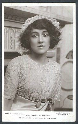 Miss Madge Titheradge as Peggy in A Butterfly on the Wheel