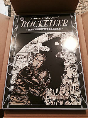 IDW Dave Stevens ROCKETEER Artist Edition 1st Printing NEW SEALED