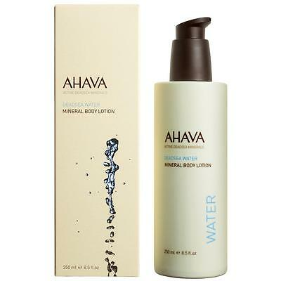 Ahava Mineral Body Lotion Quick Absorbing Deadsea Water Based Moisture 250Ml