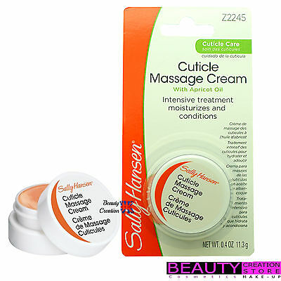 SALLY HANSEN Cuticle Massage Cream With Apricot Oil 11.3g SH070