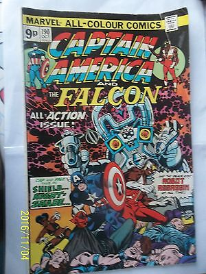 Captain America Maval 9D Comic 1975