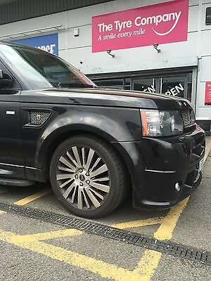 Range Rover sport / Land Rover Discovery mk3 - 4 spare wheel anti theft device