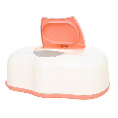 Tissue Case Baby Wipes Box Plastic Wet Tissue Automatic Case Care Accessory N3