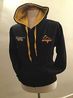 Official Coventry Storm Speedway Merchandise - Black/Yellow Hoodie