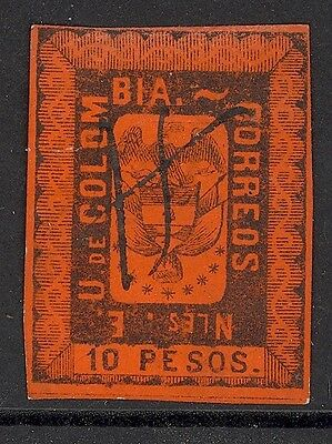 Colombia, Used 52, 4 Mgns