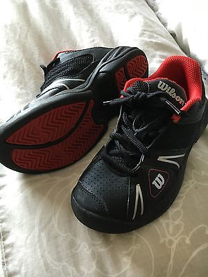 Wilson Tennis Shoes Trainers Boys