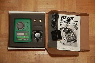 RCBS Micro Pro Electronic Scale #98983