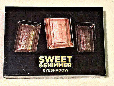 HOLIDAY JASMINE LA BELLE Eyeshadow Compact SWEET SHIMMER GOLDEN BROWN PINK NEW