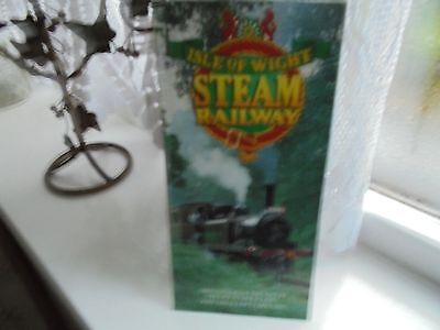 The Isle Of Wight Steam Railway Timetable & Fares Leaflet 1991
