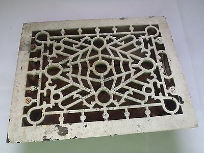 Rare Vintage S.m.f. Co.milwaukee,wisconsin Heating Grate,airvent With Shut Off