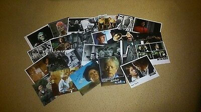 AUTOGRAPH COLLECTION - 100 x Signed Photographs - Film & Television all 10x8's