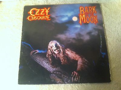 Ozzy Ozbourne Bark at the Moon Record Vinyl Album