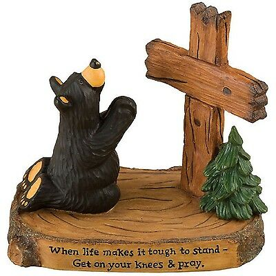 Pray Bearfoots Figurine 50197